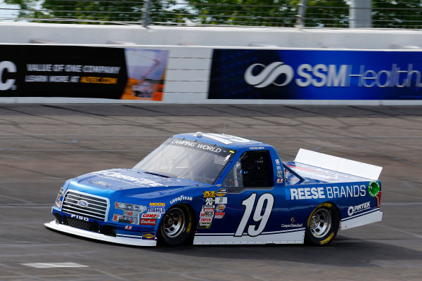 NASCAR Camping World Truck Series Drivin? For Linemen 200 Gateway Motorsports Park, Madison, IL USA Saturday 17 June 2017 Austin Cindric, Draw-Tite Ford F150 World Copyright: Russell LaBounty LAT Images