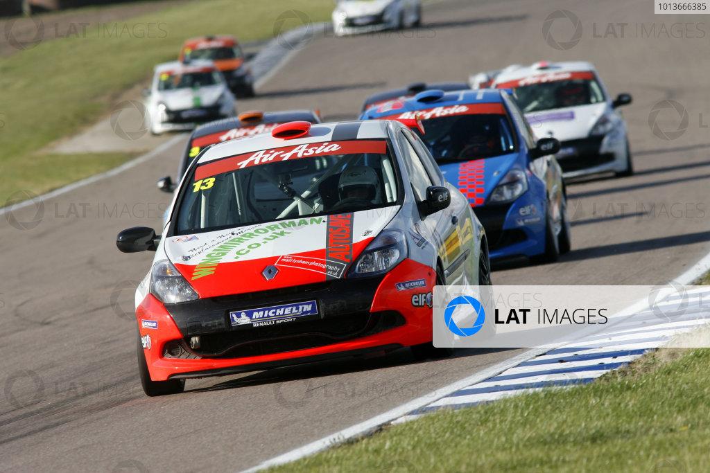 Rockingham, Northamptonshire. 17th - 18th September 2011.Jake Packun (GBR) Get On Track Developments Renault Clio Cup.World Copyright: Ebrey/LAT Photographic.