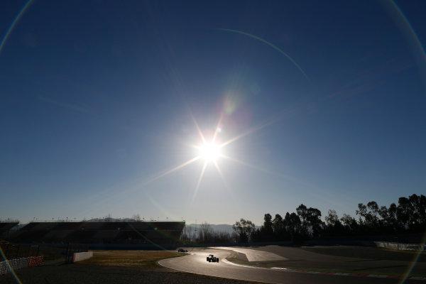 Circuit de Catalunya, Barcelona, Spain Tuesday 01 March 2016. Rio Haryanto, Manor MRT05 Mercedes.  World Copyright: Glenn Dunbar/LAT Photographic ref: Digital Image _89P8704