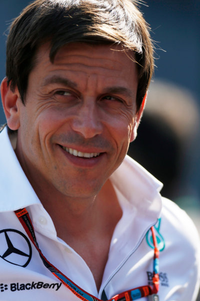 Spa-Francorchamps, Spa, Belgium. Saturday 22 August 2015. Toto Wolff, Executive Director (Business), Mercedes AMG. World Copyright: Alastair Staley/LAT Photographic ref: Digital Image _R6T5879