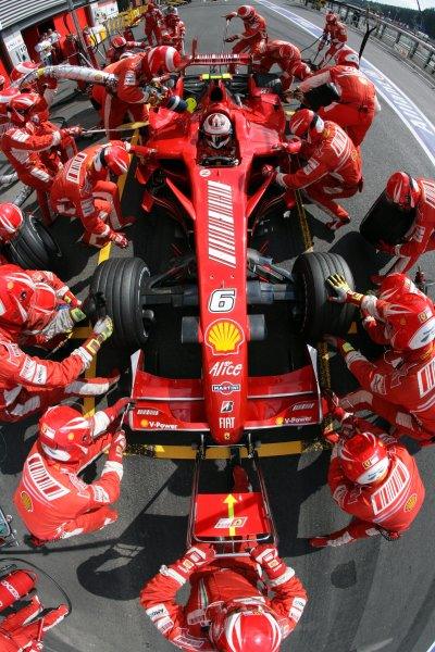 2007 Belgian Grand Prix - Sunday Race