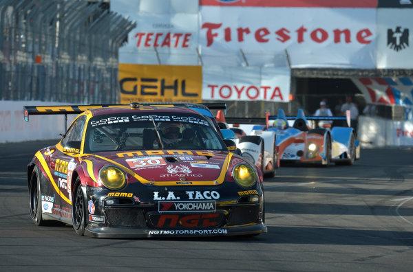 19-20 April, 2013, Long Beach, California.#30 NGT Motorsports Porsche 911 GT3 Cup ©2013 Dan R. Boyd LAT Photo USA