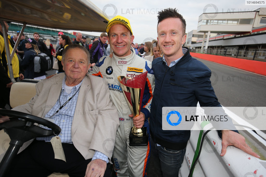 2016 British Touring Car Championship, Silverstone, 17th-18th September 2016, Mick Dufffy Collard,Rob Collard (GBR) Team JCT600 with GardX BMW 125i M Sport and Ricky Collard World Copyright. Jakob Ebrey/LAT Photographic.