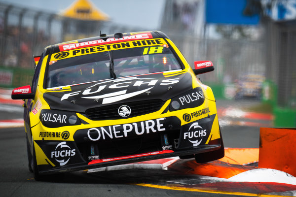 2017 Supercars Championship Round 12.  Gold Coast 600, Surfers Paradise, Queensland, Australia. Friday 20th October to Sunday 22nd October 2017. Lee Holdsworth, Team 18 Holden.  World Copyright: Daniel Kalisz/LAT Images Ref: Digital Image 201017_VASCR12_DKIMG_0387.jpg