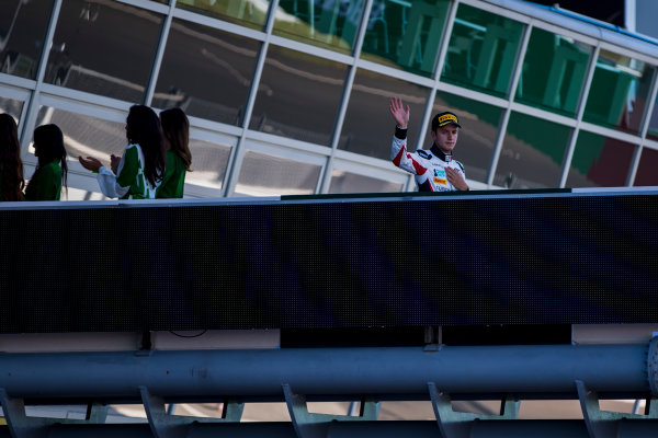 2017 GP3 Series Round 6.  Autodromo Nazionale di Monza, Monza, Italy. Sunday 3 September 2017. Anthoine Hubert (FRA, ART Grand Prix).  Photo: Zak Mauger/GP3 Series Media Service. ref: Digital Image _56I8875