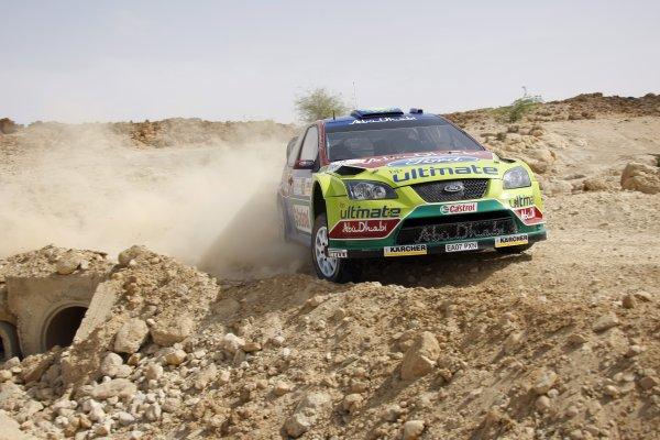 2008 FIA World Rally ChampionshipRound 5Jordan Rally 24-27 of April 2008Khalid Al-Qassimi, Ford WRC, Action.Worldwide Copyright: McKlein/LAT