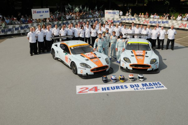 2008 Le Mans 24 Hours, Le Mans, France9th-15th JuneAston Martin Team & DriversWorldwide copyright: Dave Friedman/LAT PhotographicRef; Digital Image Only