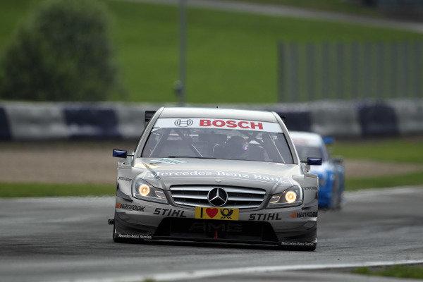 Bruno Spengler (CDN), Mercedes-Benz Bank AMG.DTM, Rd3, Red Bull Ring, Spielberg, Austria. 3-5 June 2011.