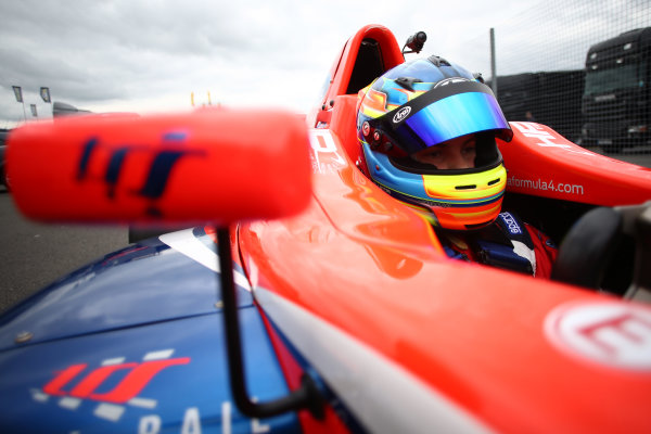 2017 British Formula 4 Championship, Donington Park, April 15th-16th 2017, Patrik Pasma (FIN) Carlin British F4 World Copyright. JEP/LAT Images