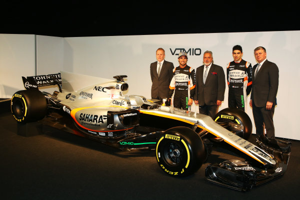 Force India VJM10 Formula 1 Launch.