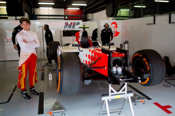 Circuit de Barcelona Catalunya, Barcelona, Spain. Monday 13 March 2017. Jordan King (GBR, MP Motorsport). Photo: Alastair Staley/FIA Formula 2 ref: Digital Image 585A6846