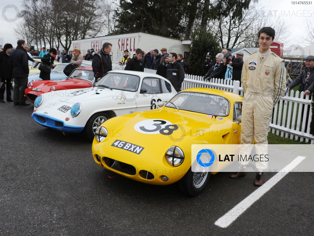 2017 75th Members Meeting Goodwood Estate, West Sussex,England 18th - 19th March 2017 Weslake Cup Woolmer World Copyright : Jeff Bloxham/LAT Images Ref : Digital Image