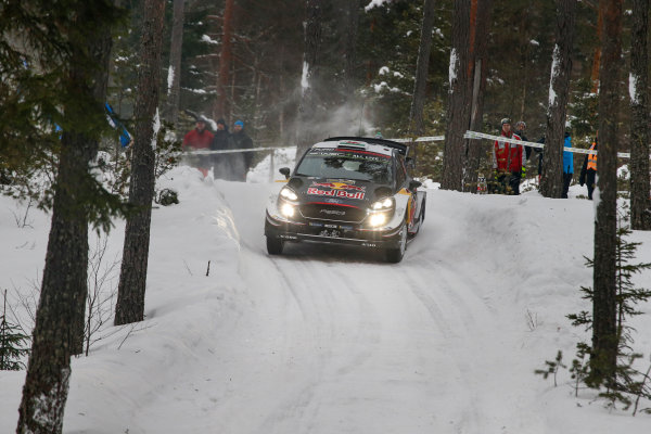 2018 FIA World Rally Championship, Round 02, Rally Sweden 2018, February 15-18, 2018. Elfyn Evans, Ford, Action Worldwide Copyright: McKlein/LAT
