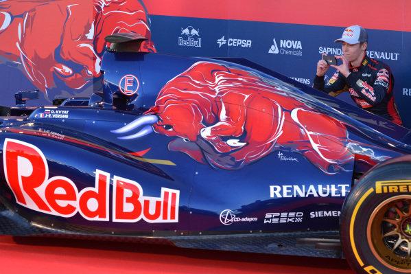Daniil Kvyat (RUS) Scuderia Toro Rosso. Scuderia Toro Rosso STR9 Launch, Jerez, Spain, Monday 27 January 2014.