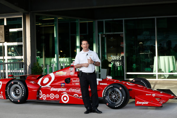 11-18 May, 2015, Indianapolis, Indiana, USA Chevrolet aero kit introduction.  Chris Berube, Chevrolet IndyCar program manager ©2015, Michael L. Levitt LAT Photo USA