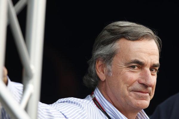Circuit de Catalunya, Barcelona, Spain. Saturday 9 May 2015. Carlos Sainz. World Copyright: Charles Coates/LAT Photographic. ref: Digital Image _N7T5261