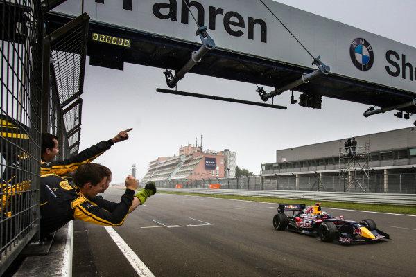 Nurburg (GER) 11-13 JULY 2012 - World Series by Renault at the Nurburgring. Carlos Sainz jr. #1 Dams. Action. © 2014 Sebastiaan Rozendaal / Dutch Photo Agency / LAT Photographic