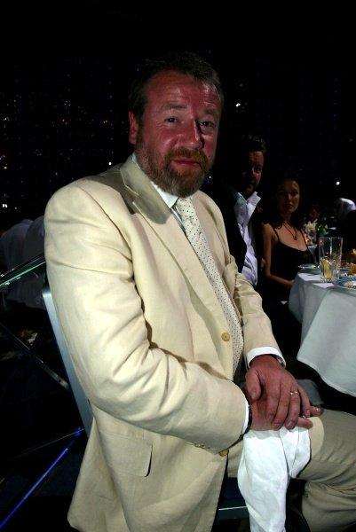 Actor Ray Winston (GBR). The Monaco Grand Prix Ball.Monaco Grand Prix, Monte Carlo, Monaco, 26 May 2002.DIGITAL IMAGE.