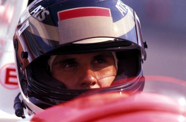 Laurent Aiello (FRA) Pacific Racing Reynard-Mugen 92D, 10th place.International F3000 Championship, Rd5, Hockenheim, Germany, 25 July 1992.