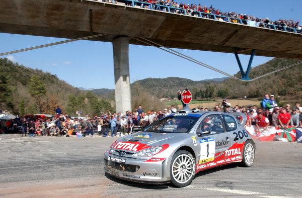 2002 World Rally ChampionshipRally Catalunya, 21st-24th March 2002.Richard Burns on Stage 18.Photo: Ralph Hardwick/LAT