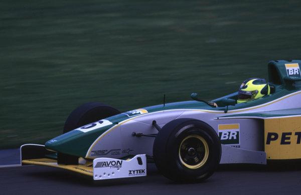 Silverstone, England. 22-23/3/2000. Bruno Junqueira, Petrobras Junior Team. World - LAT Photographic