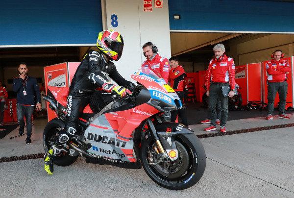 Alvaro Bautista, Ducati Test Team.