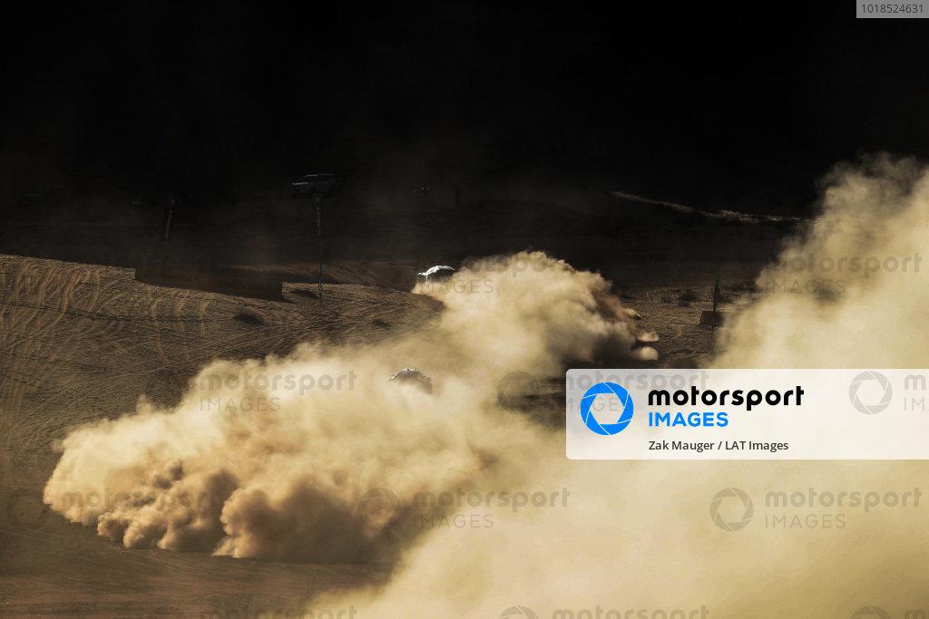 Molly Taylor (AUS)/Johan Kristoffersson (SWE), Rosberg X Racing, Laia Sanz/Carlos Sainz (ESP), Acciona | Sainz XE Team, and Cristina Gutierrez (ESP)/Sebastien Loeb (FRA), X44