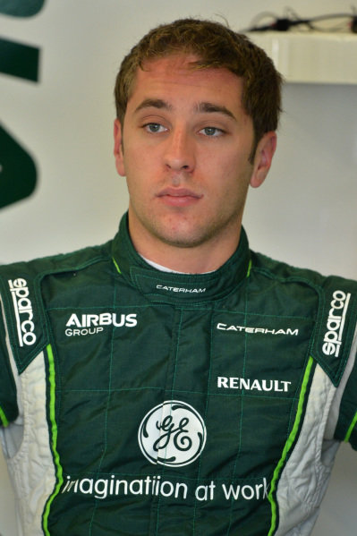 Robin Frijns (NED) Caterham Test and Reserve Driver. Formula One World Championship, Rd9, British Grand Prix, Practice, Silverstone, England, Friday 4 July 2014.