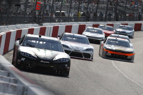 #54: Ty Gibbs, Joe Gibbs Racing, Toyota Supra Joe Gibbs Racing