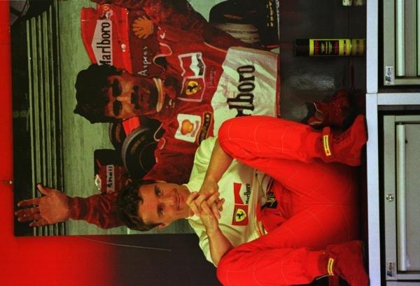 1998 Italian Grand Prix.Monza, Italy.11-13 September 1998.Eddie Irvine (Ferrari).World Copyright - Steve Etherington/LAT Photographic