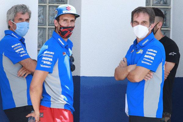 Alex Rins, Team Suzuki MotoGP, Davide Brivio.