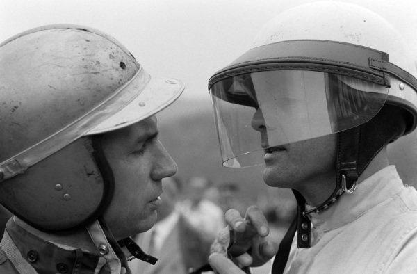Willy Mairesse and Phil Hill.