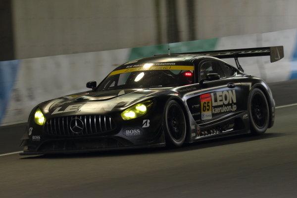 Naoya Gamou & Togo Suganami, K2 R&D LEON PYRAMID Mercedes-AMG GT3, second position in GT300