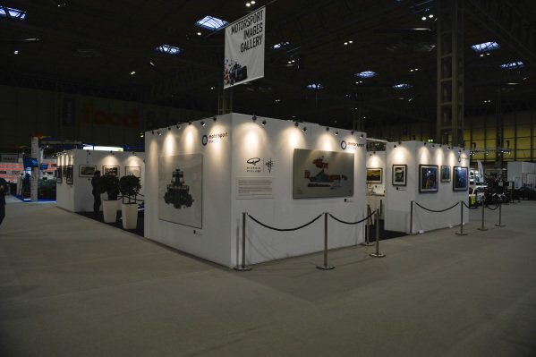 The Motorsport Images stand.