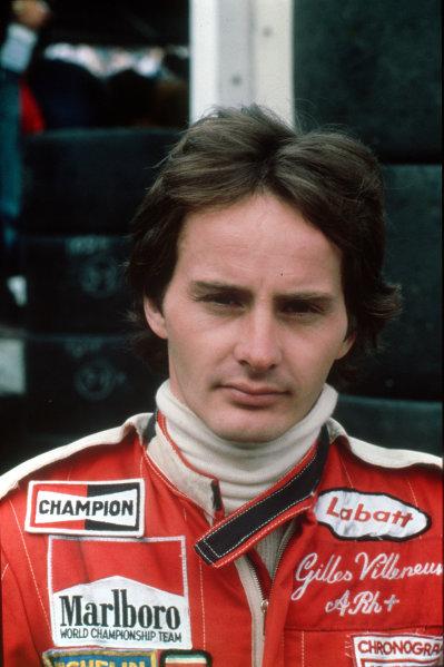 Formula 1 World Championship.Gilles Villeneuve.World - LAT Photographic