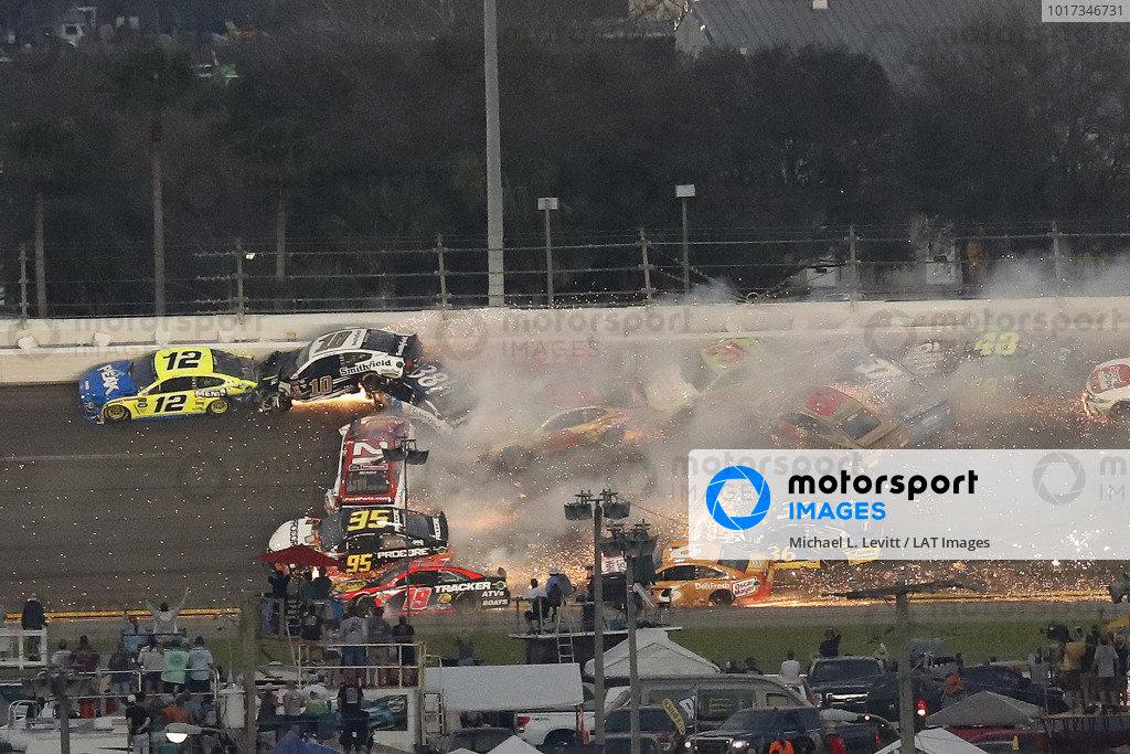 The big one, crash