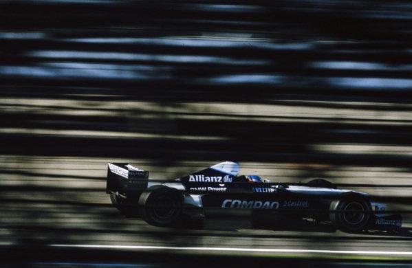 Juan Pablo Montoya, Williams FW23 BMW.