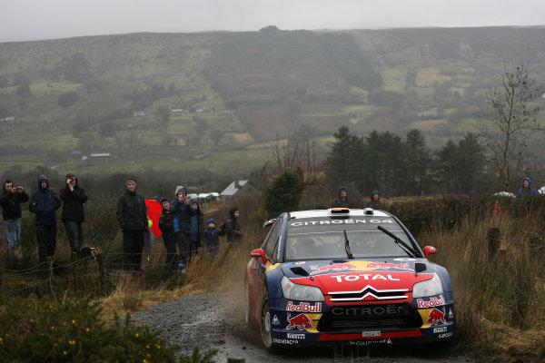 Round 1, Rally Ireland, 29th Jan - 1st Feb 2009, Dani Sordo, Citroen, Action, Worldwide Copyright: McKlein/LAT