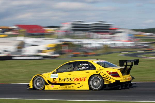 David Coulthard (GBR), AMG Mercedes, AMG Mercedes C-Klasse (2008).DTM, Rd7, Brands Hatch, England, 3-5 September 2010.World Copyright: LAT Photographicref: dne1004se86