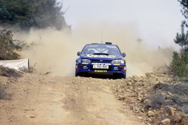 1994 World Rally Championship (F2).Australian Rally, Australia.Colin McRae/Derek Ringer (Subaru Impreza 555).World Copyright: LAT PhotographicRef: 35mm transparency 94RALLY19