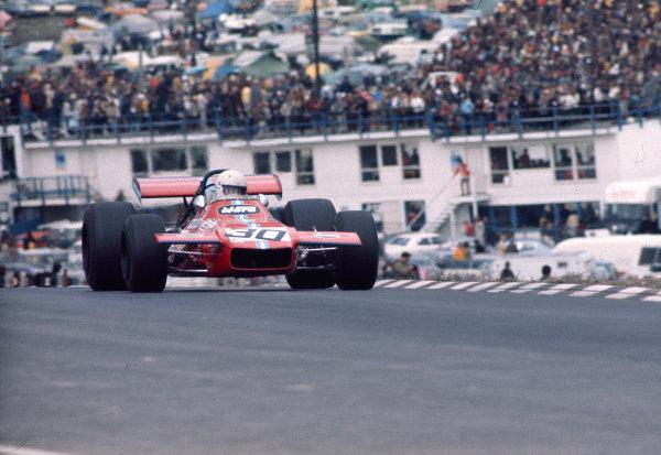 1970 United States Grand Prix.Watkins Glen, New York, USA. 2-4 October 1970.Tim Schenken (de Tomaso 505/38 Ford). Ref- 70 USA 10. World Copyright - LAT Photographic