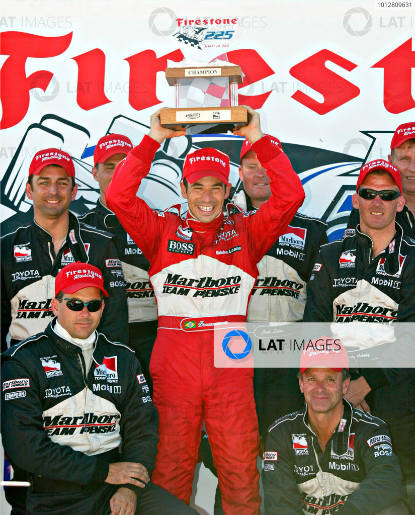 2003 IRL IndyCar, Nazareth, Pennsylvania, August 22 - 24, 2003
