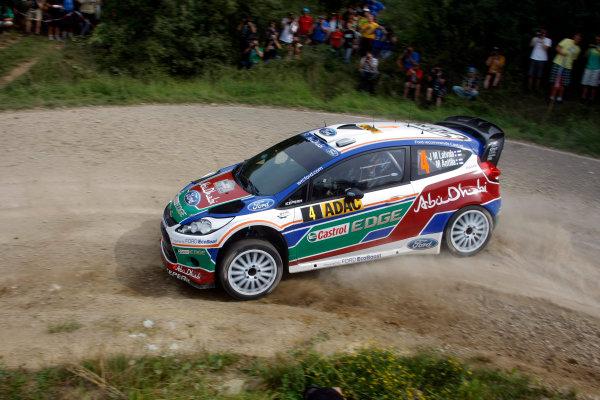 Round 09 - Rally Deutschland 18-21 August 2011.Jari-Matti Latvala, Ford WRC, Action.Worldwide Copyright: McKlein/LAT