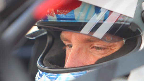 26-29 January, 2012, Daytona Beach, Florida USAChip Ganassi Racing driver Joey Hand in his car during Thursday practice.(c)2012, R D. EthanLAT Photo USA