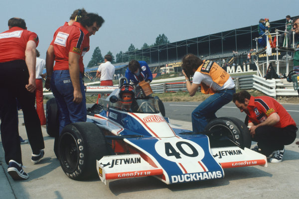 Brands Hatch, England. 14-16 July 1978. Tony Trimmer, McLaren M23 Ford, did not qualify. Ref: 78GB31. World Copyright - LAT Photographic