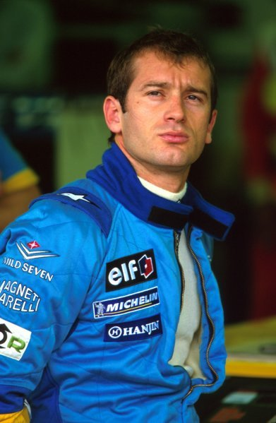 Jarno Trulli (ITA), Renault, finished in fifth place.