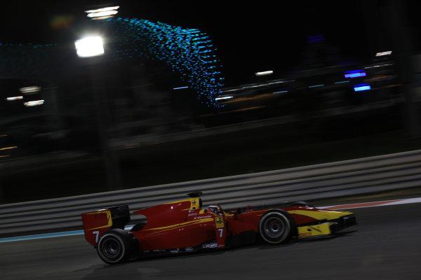 2013 GP2 Series Test 3 Yas Marina Circuit, Abu Dhabi, UAE. Day 3, Thursday 7th November 2013. Raffaele Marciello (ITA, Racing Engineering)  World Copyright: Sam Bloxham/LAT Photographic. ref: Digital Image IMG_5927
