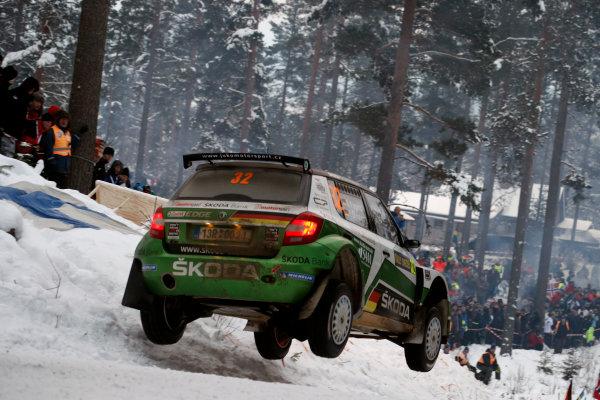 2013 World Rally Championship Swedish Rally 7th - 10th February 2013 Sepp Wiegand, Skoda, action Worldwide Copyright: McKlein/LAT