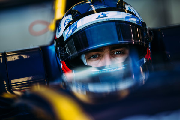 2016 GP3 Series Testing. Estoril, Portugal. Thursday 24 March 2016. Jake Hughes (GBR) DAMS  World Copyright: Malcolm Griffiths/LAT Photographic. ref: Digital Image F80P4754