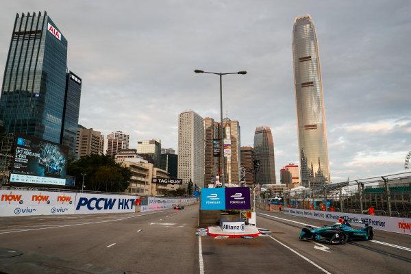 2017/2018 FIA Formula E Championship. Round 1 - Hong Kong, China. Saturday 02 December 2017. Luca Filippi (ITA), NIO Formula E Team, NextEV NIO Sport 003. Photo: Sam Bloxham/LAT/Formula E ref: Digital Image _J6I3779